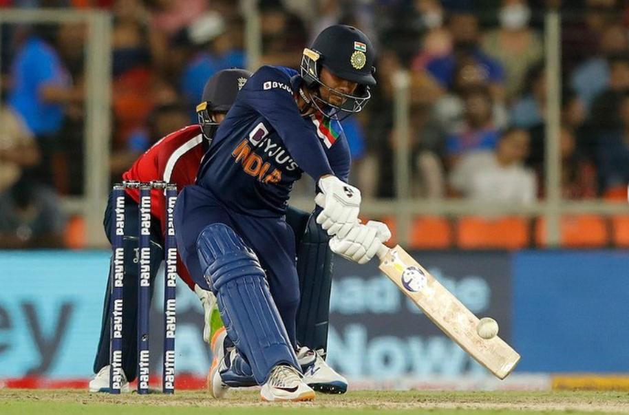 Ishan Kishan, an Indian cricketer from Bihar