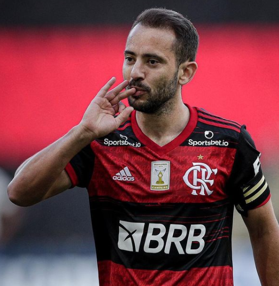 Everton Ribeiro, Attacking midfielder or winger for Flamengo
