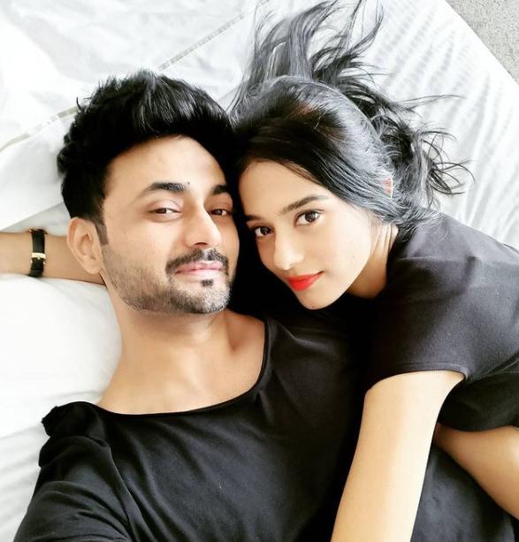 Amrita Rao and her husband, Anmol Sood