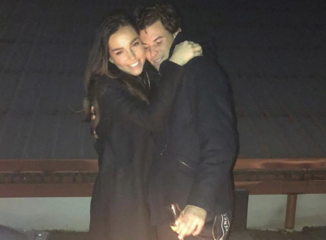 Lily Paul and his boyfriend, Dominic Thiem (tennis player)