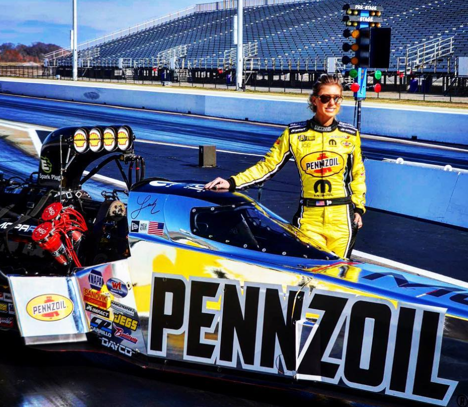 Leah entered the Mopar Express Lane NHRA Midwest Nationals presented by Pennzoil