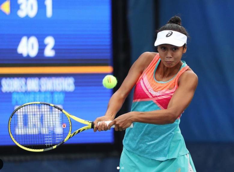 Canadian Tennis Player, Leylah Annie Fernandez