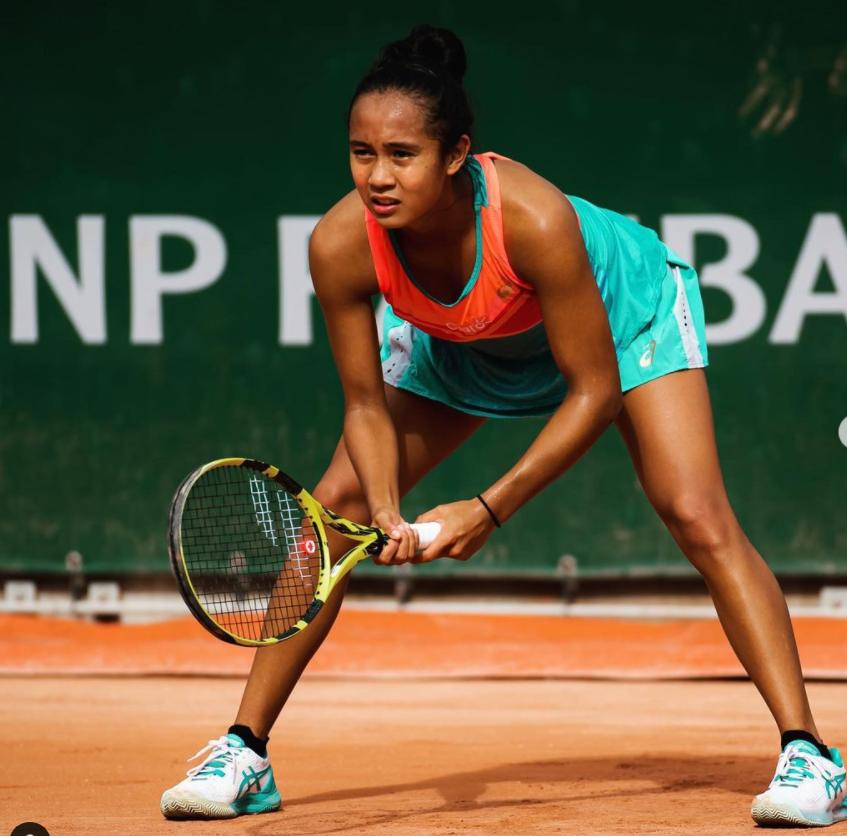 Leylah made her Grand Slam debut at the 2020 Australian Open