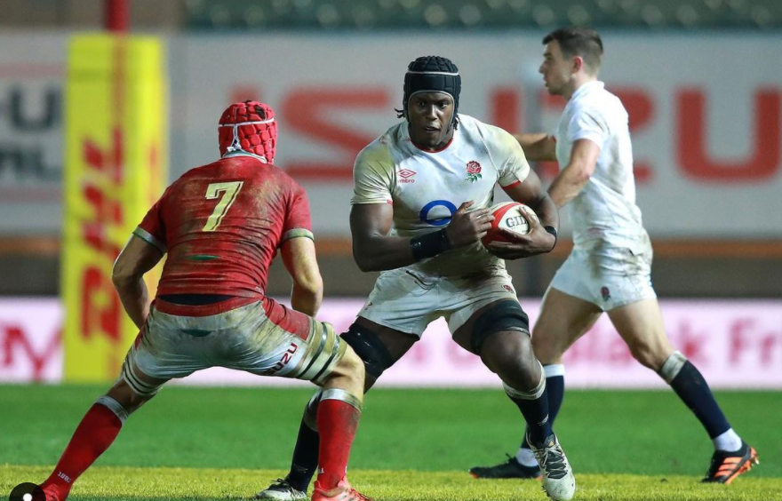 Maro Itoje is playing for the team, Saracens