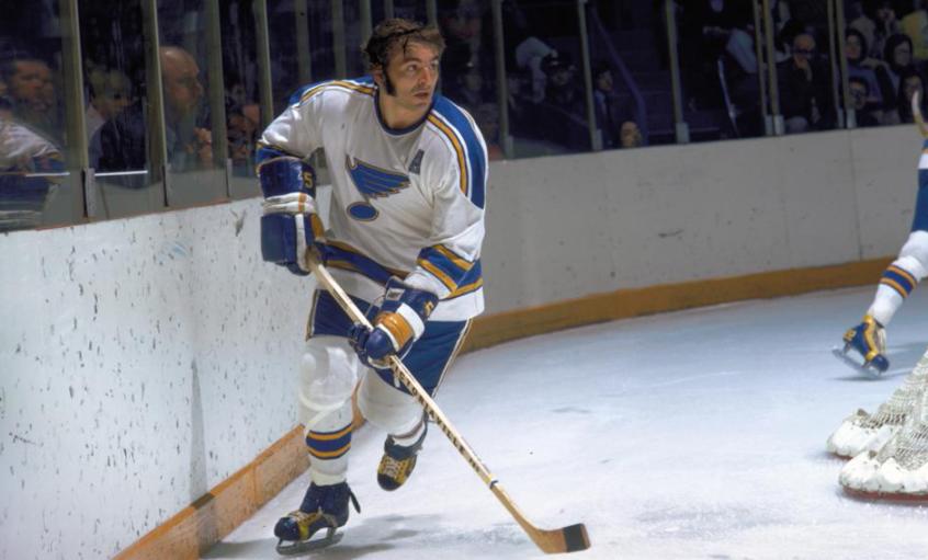 Bob Plager, an ice hockey defenceman