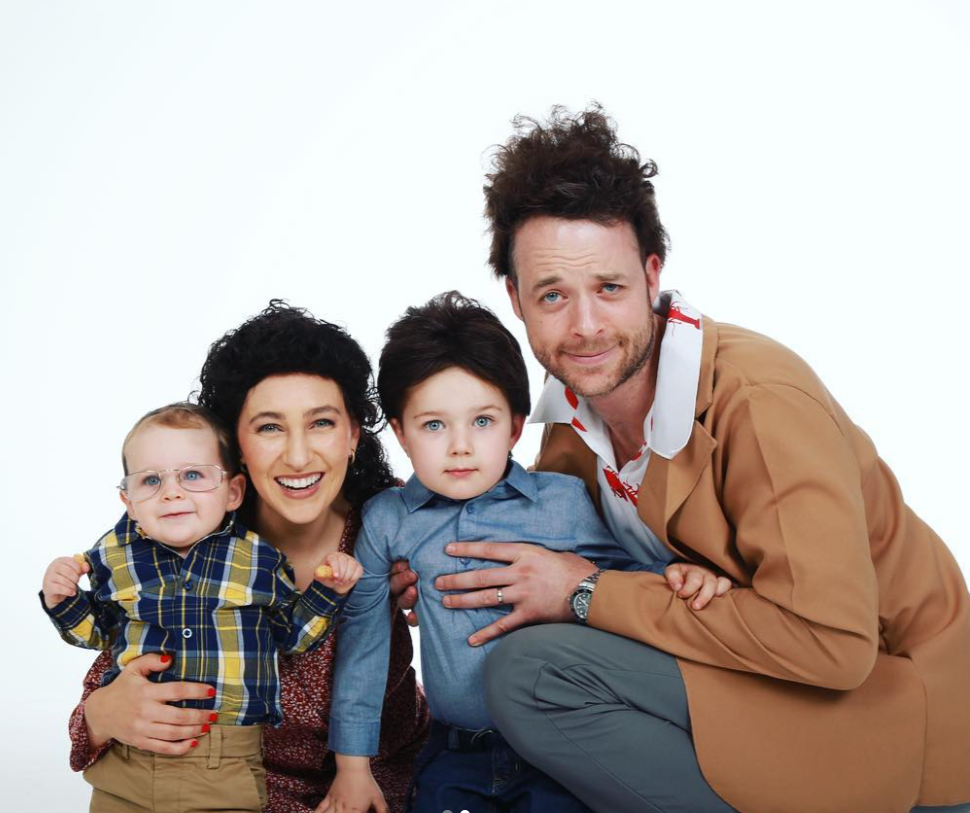 Zoe Foster Blake with her husband, Hamish Blake and their kids