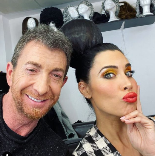 Pablo Motos and Pilar Rubio (Spanish TV Presenter)