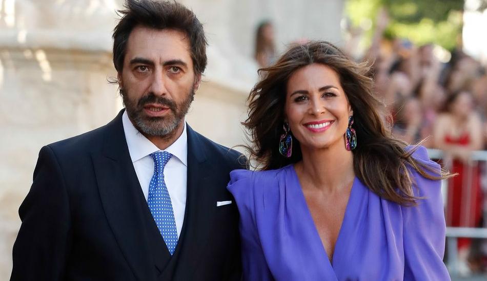 Nuria Roca and her husband, Juan del Val