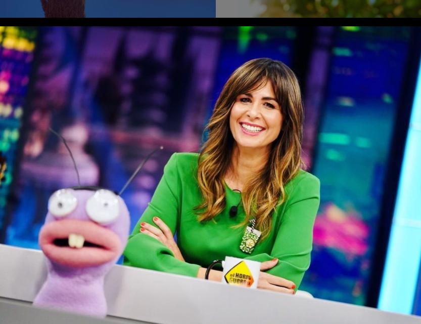 TV presenter, Nuria Roca