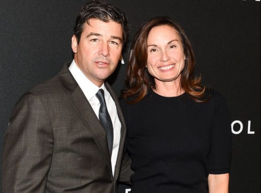 Kyle Chandler and his wife, Kathryn Macquarrie