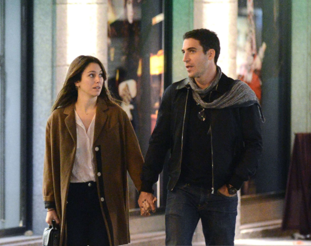 Miguel Angel Silvestre and his ex-girlfriend Blanca Suarez Seen In Madrid
