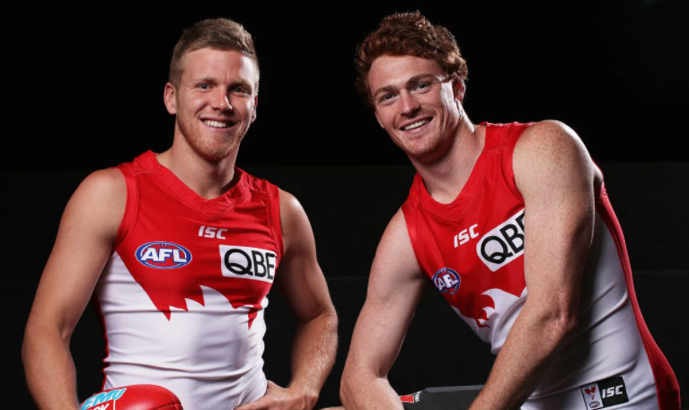 Sydney vice-captain Dan Hannebery and speedster Gary Rohan
