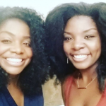 Joaquina Kalukango with her sister