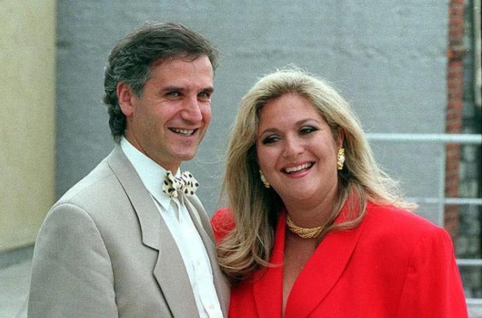 Vanessa Feltz and her ex-husband, surgeon Michael Kurer