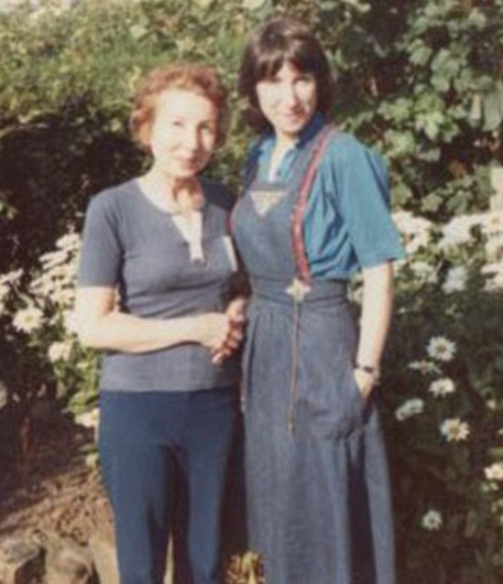 Kay Mellor was raised by her mother Dinah