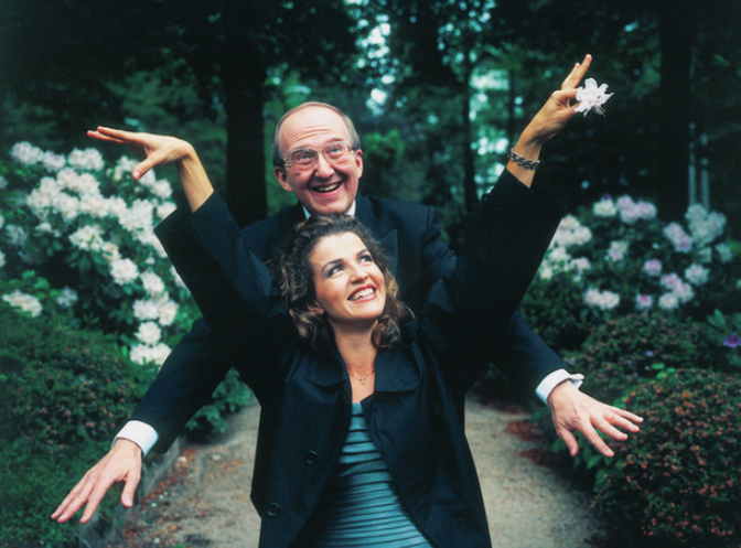 Anne-Sophie Mutter and her ex-husband, Andre Previn