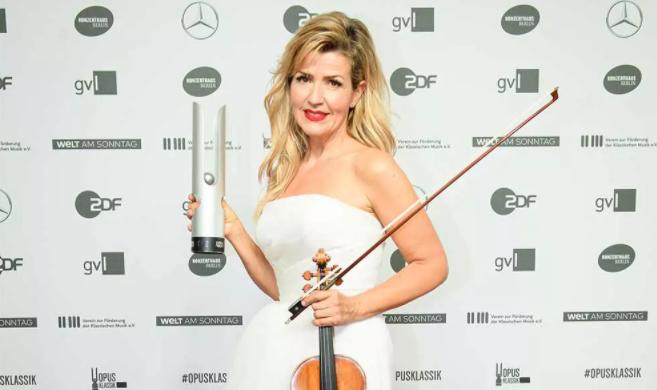 Award-winning violinist, Anne-Sophie Mutter