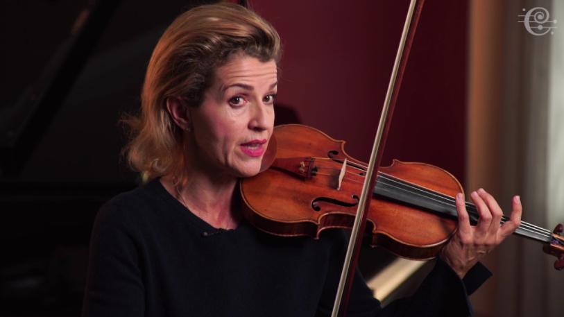 German violinist, Anne-Sophie Mutter