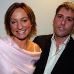 Ruth Dodsworth with her ex-husband, Jonathan Wignall