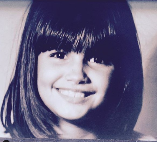 Helena Noguerra in young age