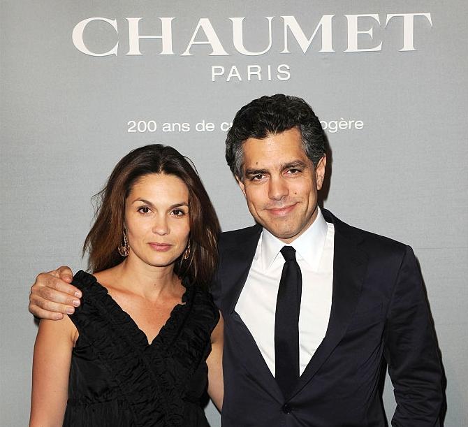 Barbara Schulz and her husband Romain Hatchuel