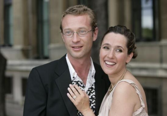 Alexia Laroche-Joubert and her ex-husband, Guillaume Multrier