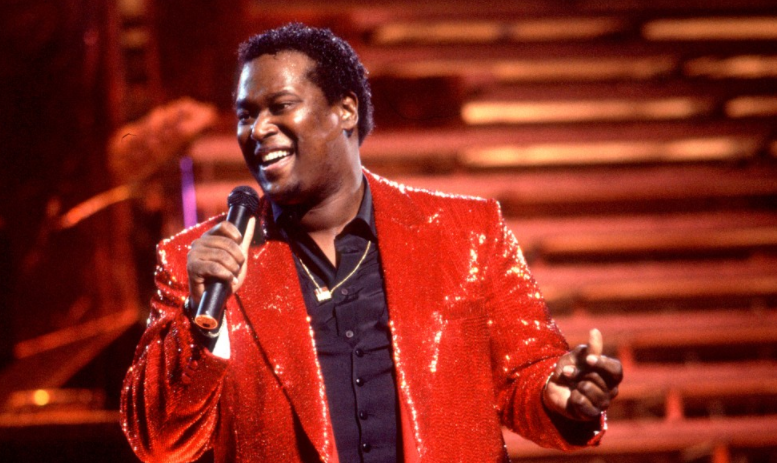 Luther Vandross Singing