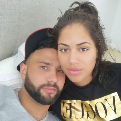 Tom Kemp and Malin Andersson split after Malin accused Tom of cheating on her