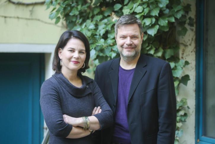 Annalena Baerbock and Robert Habeck