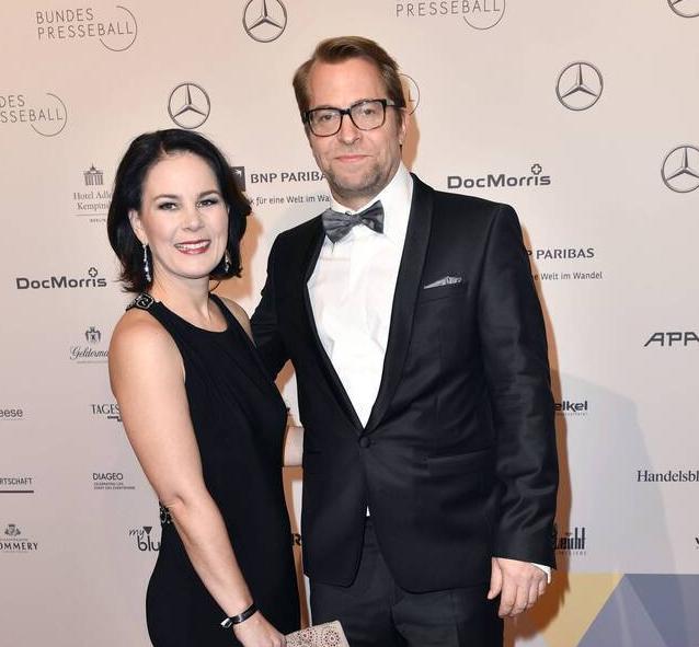 Annalena Baerbock with husband Daniel Holefleisch