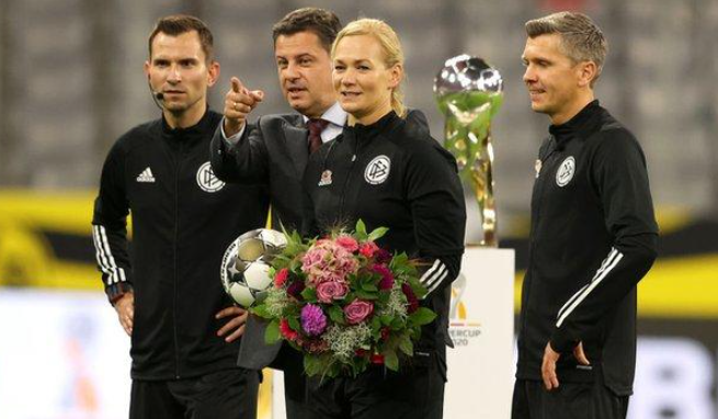 Bibiana Steinhaus retires after Super Cup win for Bayern