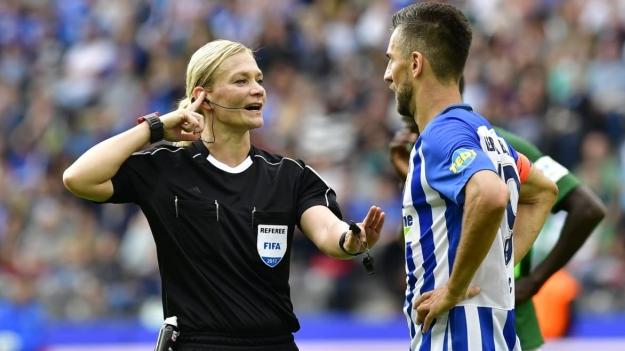 German Referee, Bibiana Steinhaus