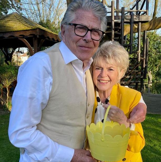 Gloria Hunniford and her husband, Stephen Way
