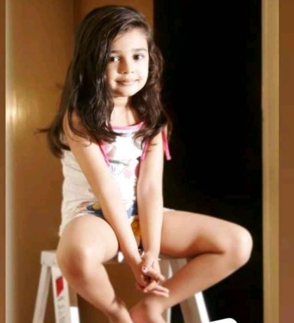 Krithi Shetty Childhood Picture