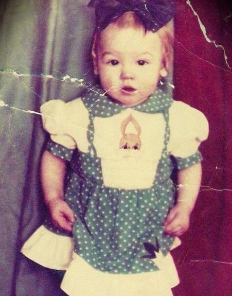 Valentina Shevchenko Childhood Picture