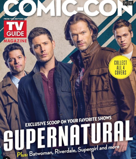 Misha Collins as the angel 'Castiel' on the CW television series 'Supernatural'