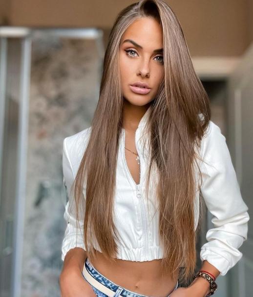 Liana Vasilisinova, Finalist in the 2018 Miss Czech Republic pageant