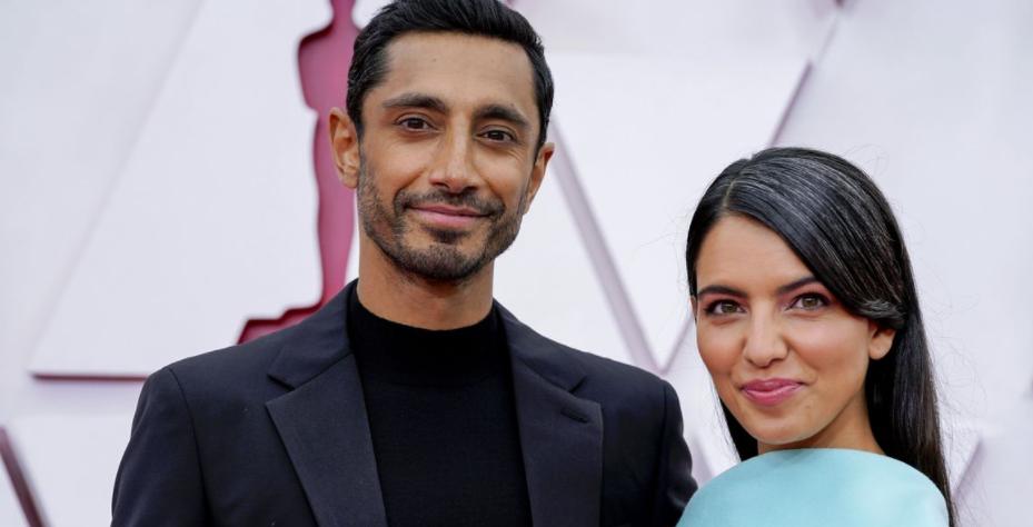 Fatima Farheen Mirza with her husband, Riz Ahmed