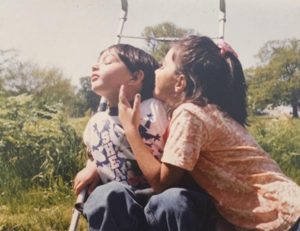 Kiara Advani with her brother, Mishaal Advani