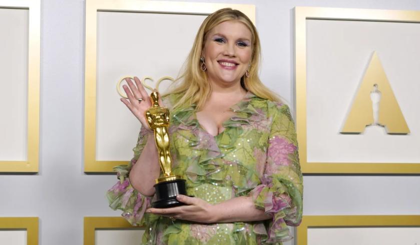 Emerald Fennell won her first Academy Award