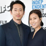 Steven Yeun and his charming wife, Joana Park