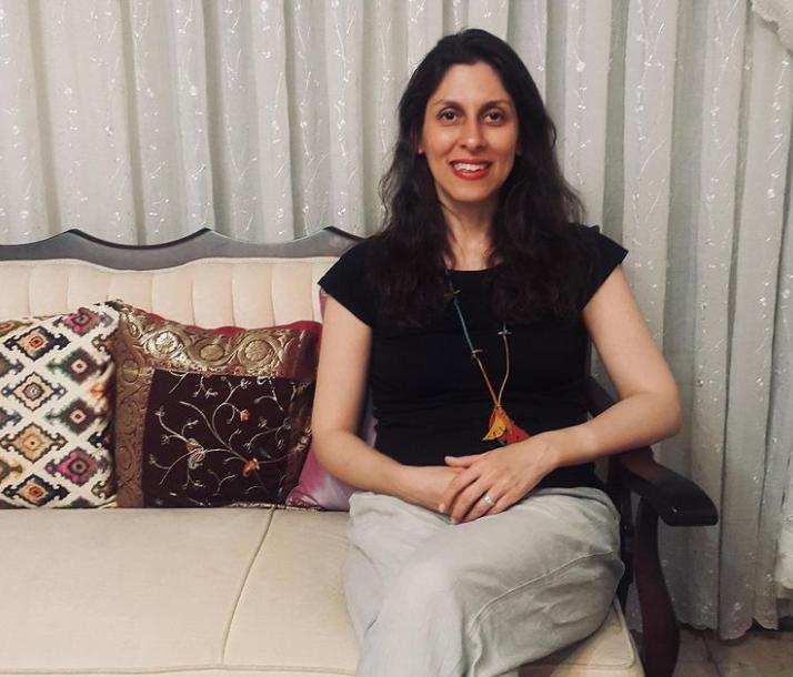 Iranian-British Journalish, Nazanin Zaghari-Ratcliffe who is the current imprisonment in Iran