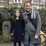 Nazanin Zaghari-Ratcliffe husband, Richard Ratcliffe and their daughter