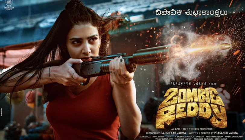 Daksha Nagarkar as Maggie in 2021 film 'Zombie Reddy'