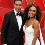 Janet Mock and her ex-husband Aaron Tredwell