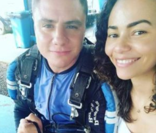 Dani Soares with her late boyfriend,Bubinick
