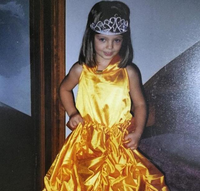 Childhood Picture of Aviva Mongillo