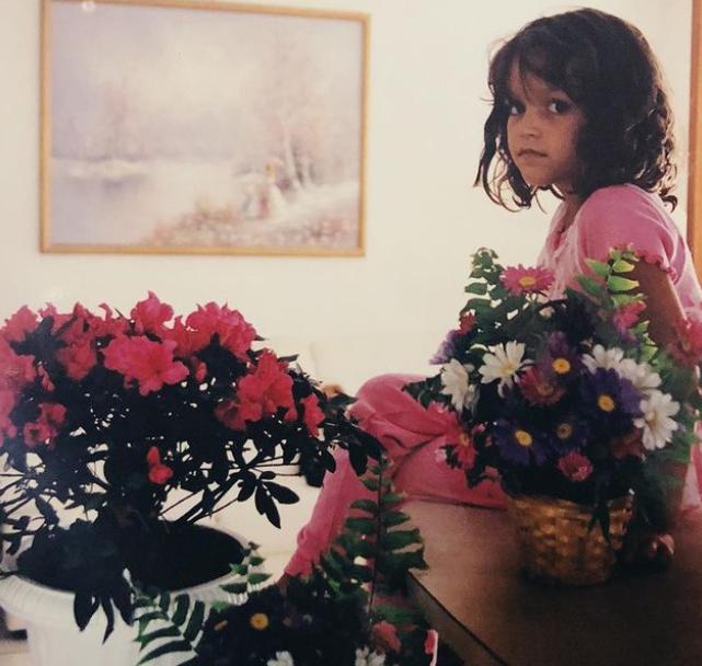 KathleenLights During Her Childhood Age
