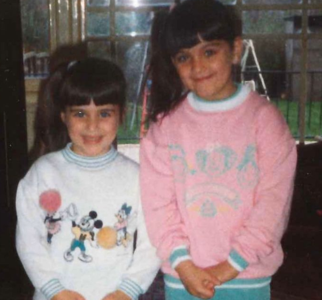 Vicky McClure and her elder sister, Jenny McClure