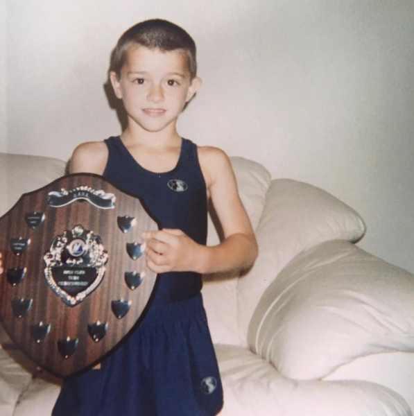 Max Whitlock as a kid